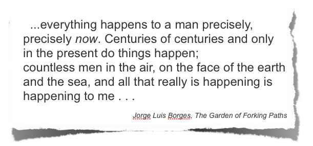 Jorge Luis Borge quote